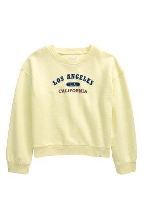 Pattern Fleece Sweatshirt | Nordstrom