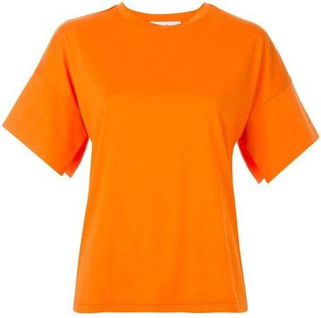 wide-sleeve T-shirt