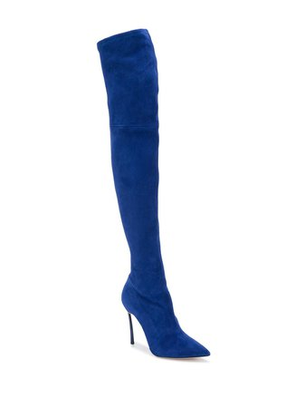 Casadei Knee-Length Stiletto Boots