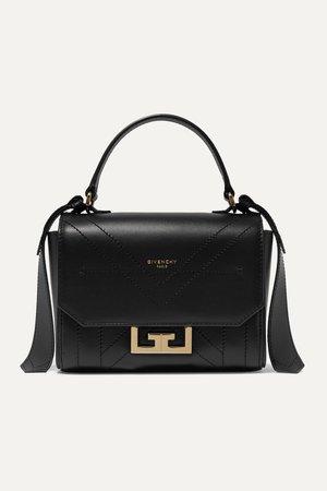 Black Eden mini leather shoulder bag | Givenchy | NET-A-PORTER
