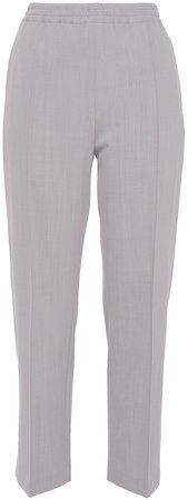 Wool-blend Twill Tapered Pants