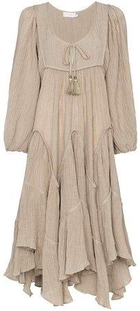 Melody chevron tier dress