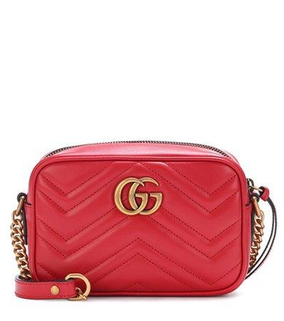 GG Marmont Mini matelassé leather crossbody bag