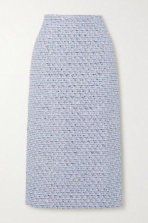 Alessandra Rich | Sequined tweed midi skirt | NET-A-PORTER.COM