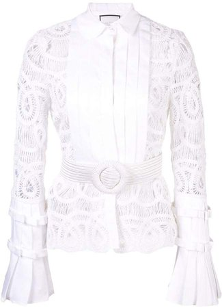 Alessio lace top
