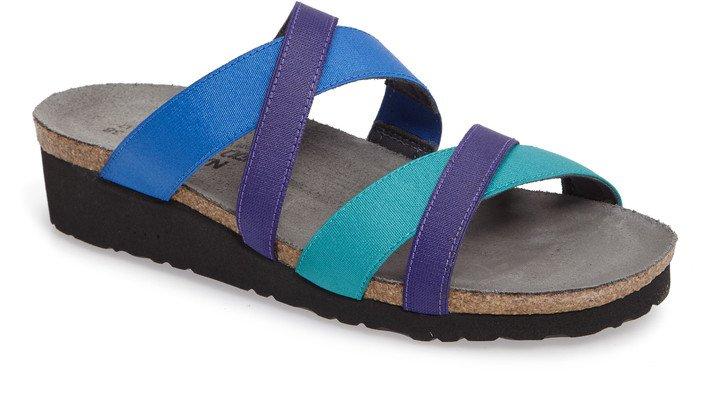 Roxana Strappy Slip-On Sandal