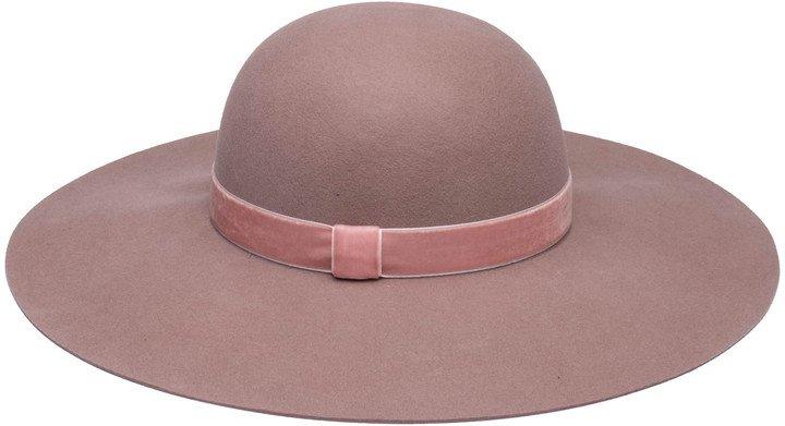 Honey Floppy Wool Hat