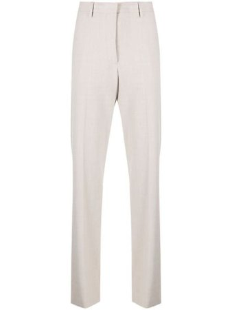 Off-White logo-patch Tailored Trousers - Farfetch