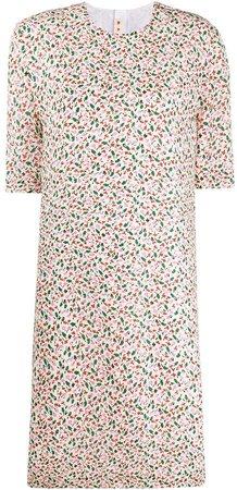 floral-print T-shirt dress