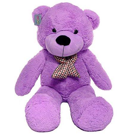 "Joyfay Big Purple Teddy Bear-Giant 47"" Stuffed Animal"