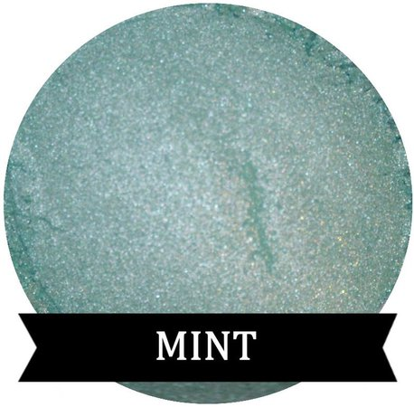 MINT Green Eyeshadow Spring Shadow | Etsy