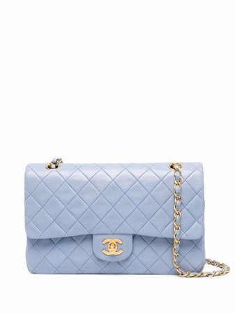 Chanel Pre-Owned 1991 Timeless Double Flap shoulder bag - FARFETCH