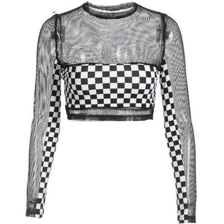 runner-checkerboard-crop-mesh-top_2048x.jpg (721×721) | ShopLook