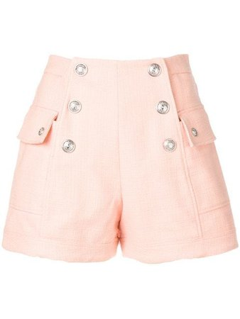 Balmain Button Embellished Shorts