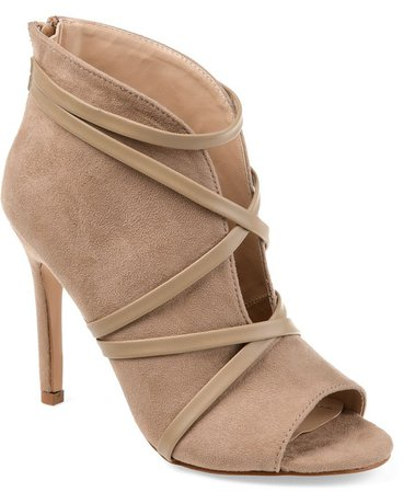 Journee Collection Women's Samara Bootie & Reviews - Boots - Shoes - Macy's