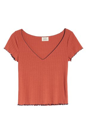 PST by Project Social T Lettuce Edge Baby Tee   Nordstrom