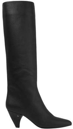 Salome Leather Knee Boots