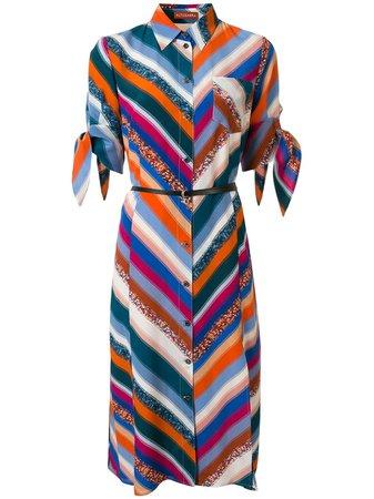 Altuzarra Printed Shirt Dress Ss20   Farfetch.Com