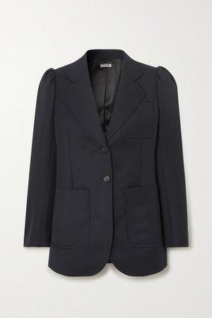 Miu Miu | Wool blazer | NET-A-PORTER.COM