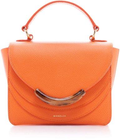 Luna Mini Leather Shoulder Bag