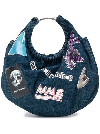 MM6 Maison Margiela Multi Patches Denim Tote Bag - Farfetch