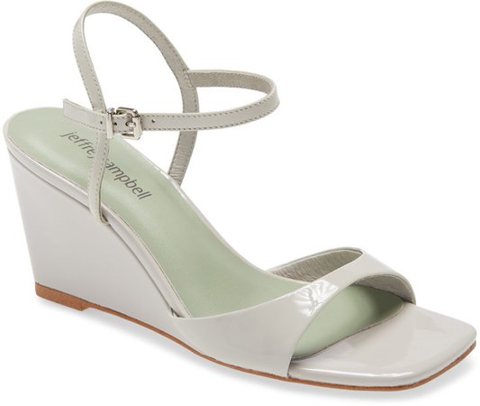Entree Ankle Strap Wedge Sandal