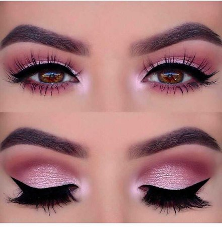 Light Pink Eye Makeup