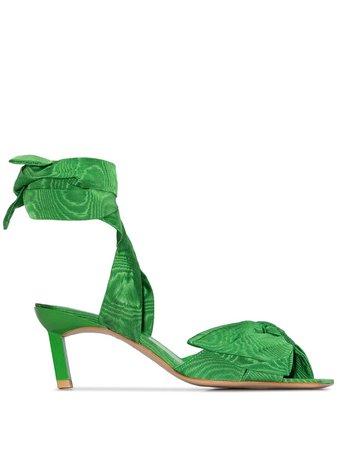 GANNI 65 Bow Tie Sandals - Farfetch