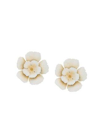 Jennifer Behr flower earrings SS19 - Shop Online Now - Fast AU Delivery