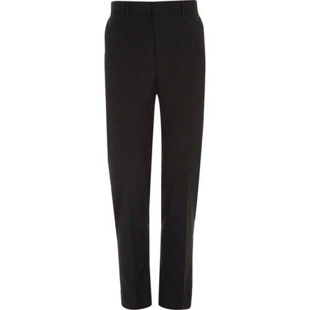 Black slim fit smart pants - Smart Pants - Pants - men