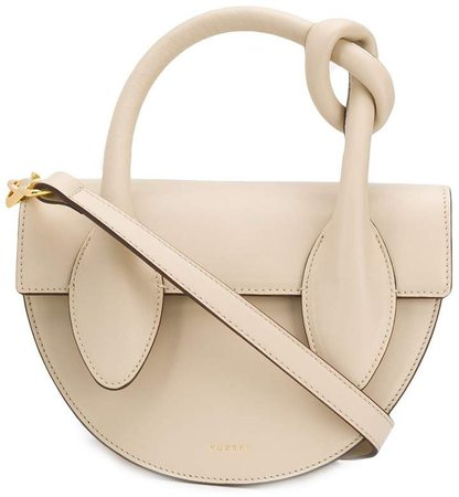 Dolores knot handle tote bag