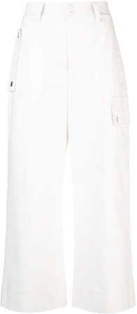 White Label cropped cargo trousers