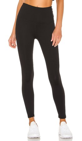 Beyond Yoga Sportflex High Waisted Midi Legging in Black | REVOLVE