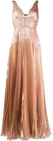 Ayana pleated tiered dress