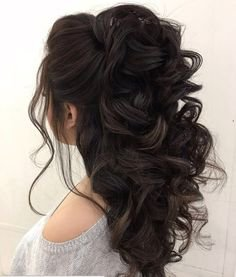 fancy hairstyles for dark hair - Google Search