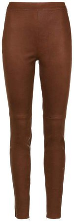 Nk leather skinny trousers