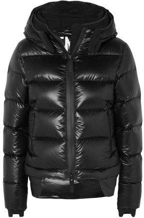 10k Nano Gloss Quilted Shell Hooded Down Jacket