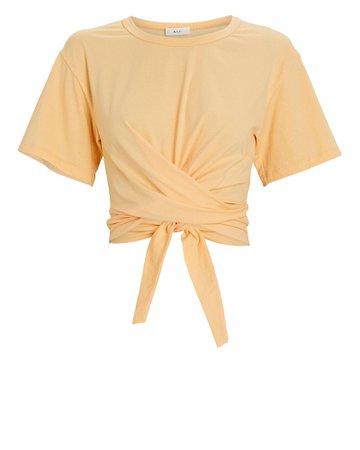 A.L.C. Jules Wrap T-Shirt | INTERMIX®