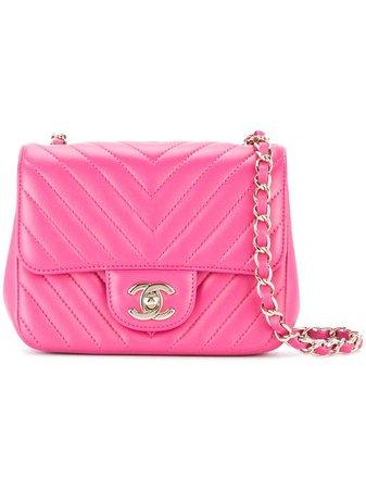 Chanel Pre-Owned V Stitch Shoulder Bag - Farfetch