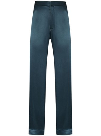 Asceno satin-effect Pajama Trousers - Farfetch