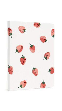 Amazon.com : Kate Spade New York Women's Strawberries Concealed Spiral Notebook, Red/Green/White, One Size : Office Products