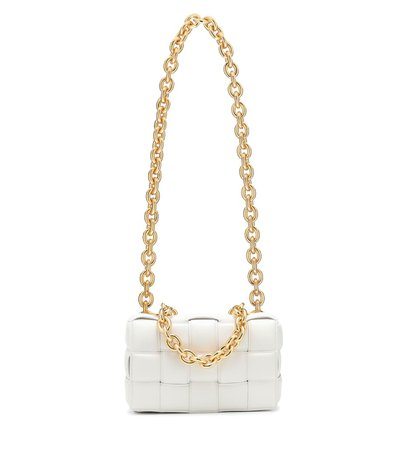 The Chain Cassette leather shoulder bag