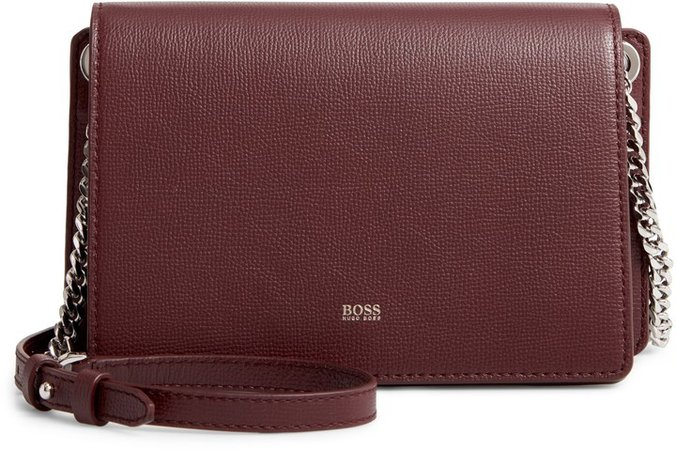 Taylor Leather Crossbody Bag