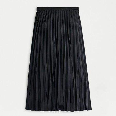 J.Crew: Pleated Midi Skirt