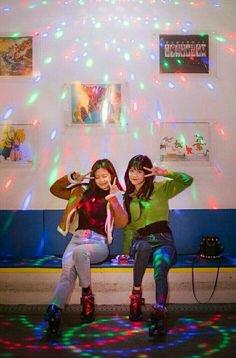 Somi and yiyeon