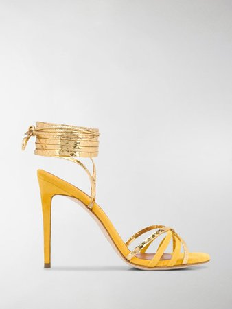 Wrap-Around Strappy Sandals