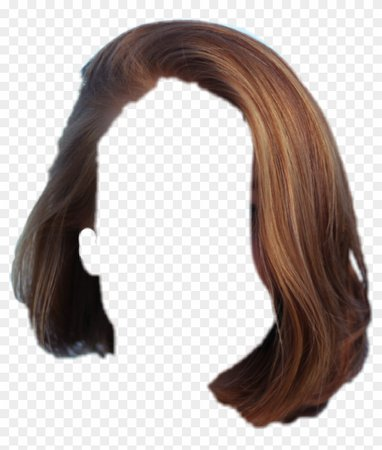 lace wig brown hair short
