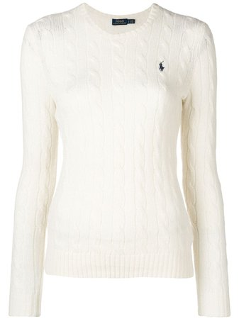 Polo Ralph Lauren logo patch sweater $163 - Buy AW19 Online - Fast Global Delivery, Price