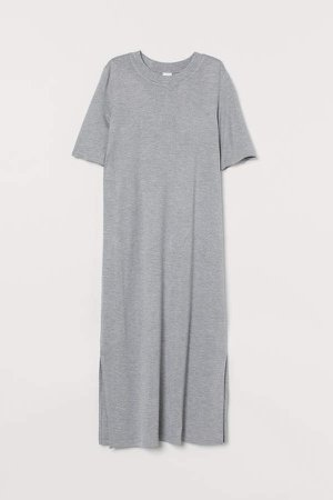 Jersey Dress - Gray