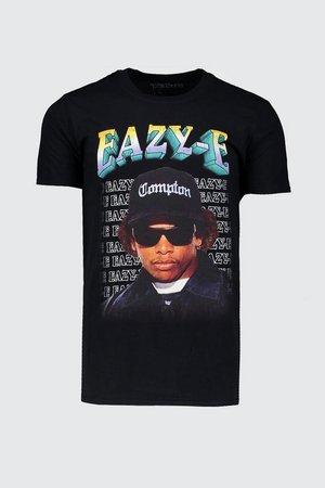 Eazy-E License T-Shirt | Boohoo